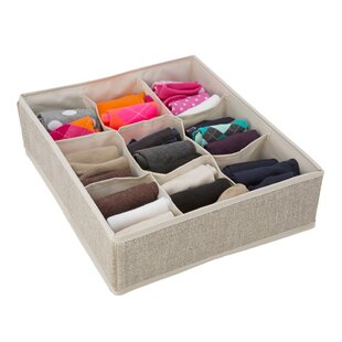 9 Compartment Drawer Organizer