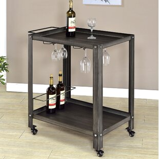 McGuinness Mator Bar Cart by Williston Forge