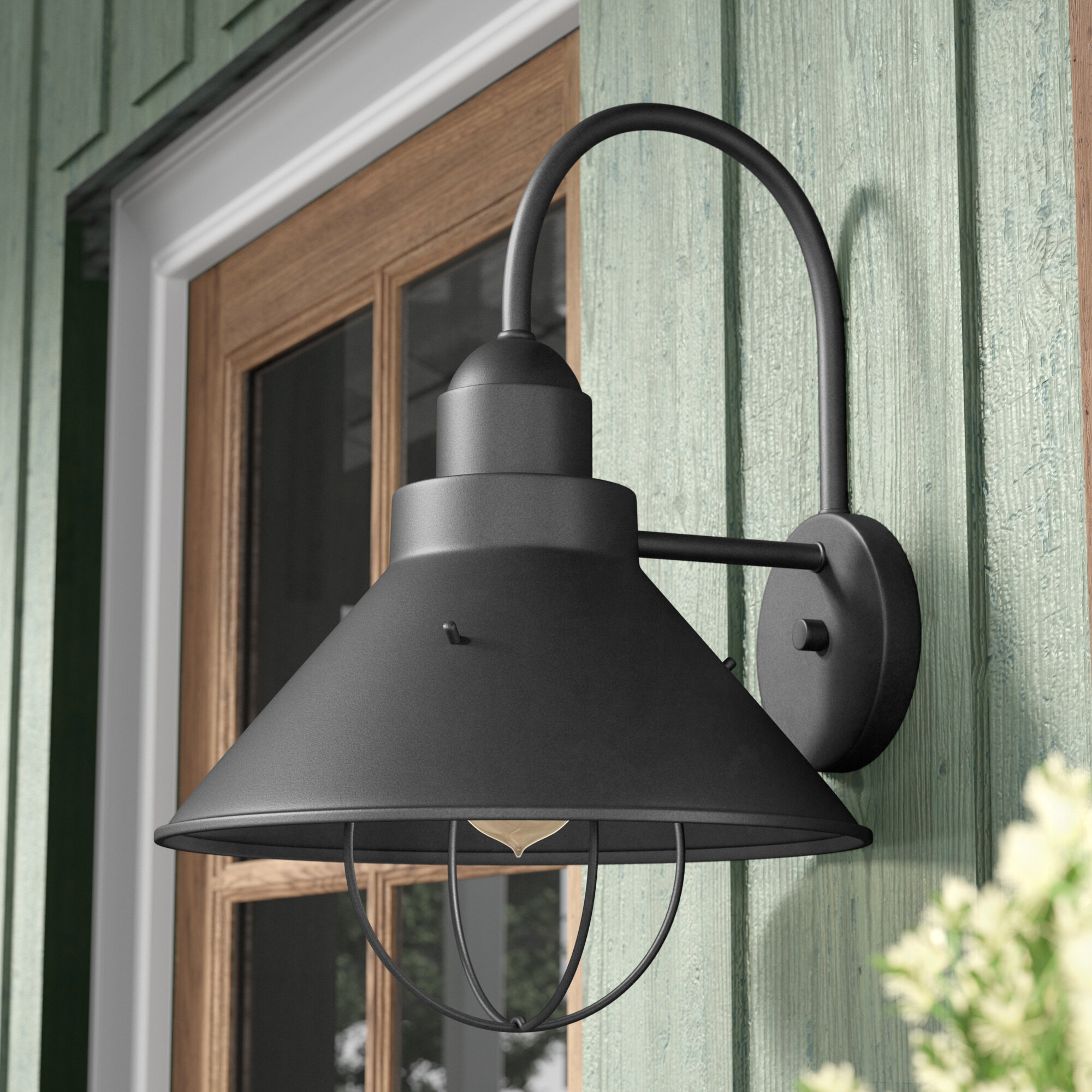Longs Tides Castro 1 Light Outdoor Barn Reviews