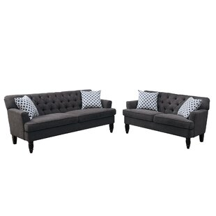 Online Reviews Americus 2 Piece Living Room Set By Charlton Home