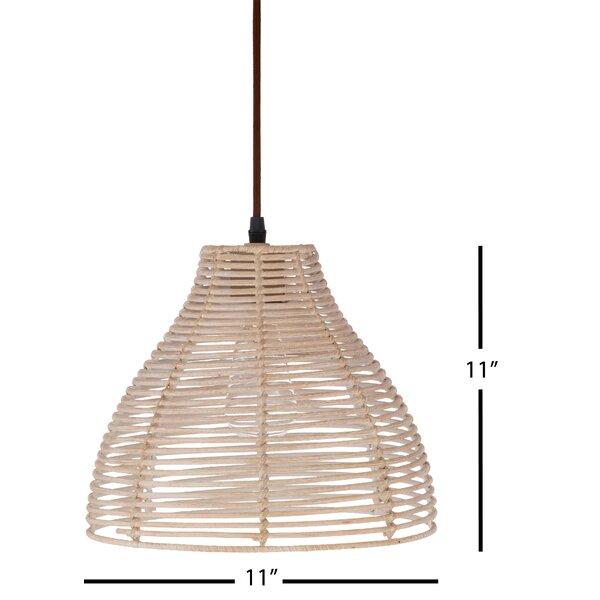 Birch Lane Jamari 1 Light Single Cone Pendant Wayfair