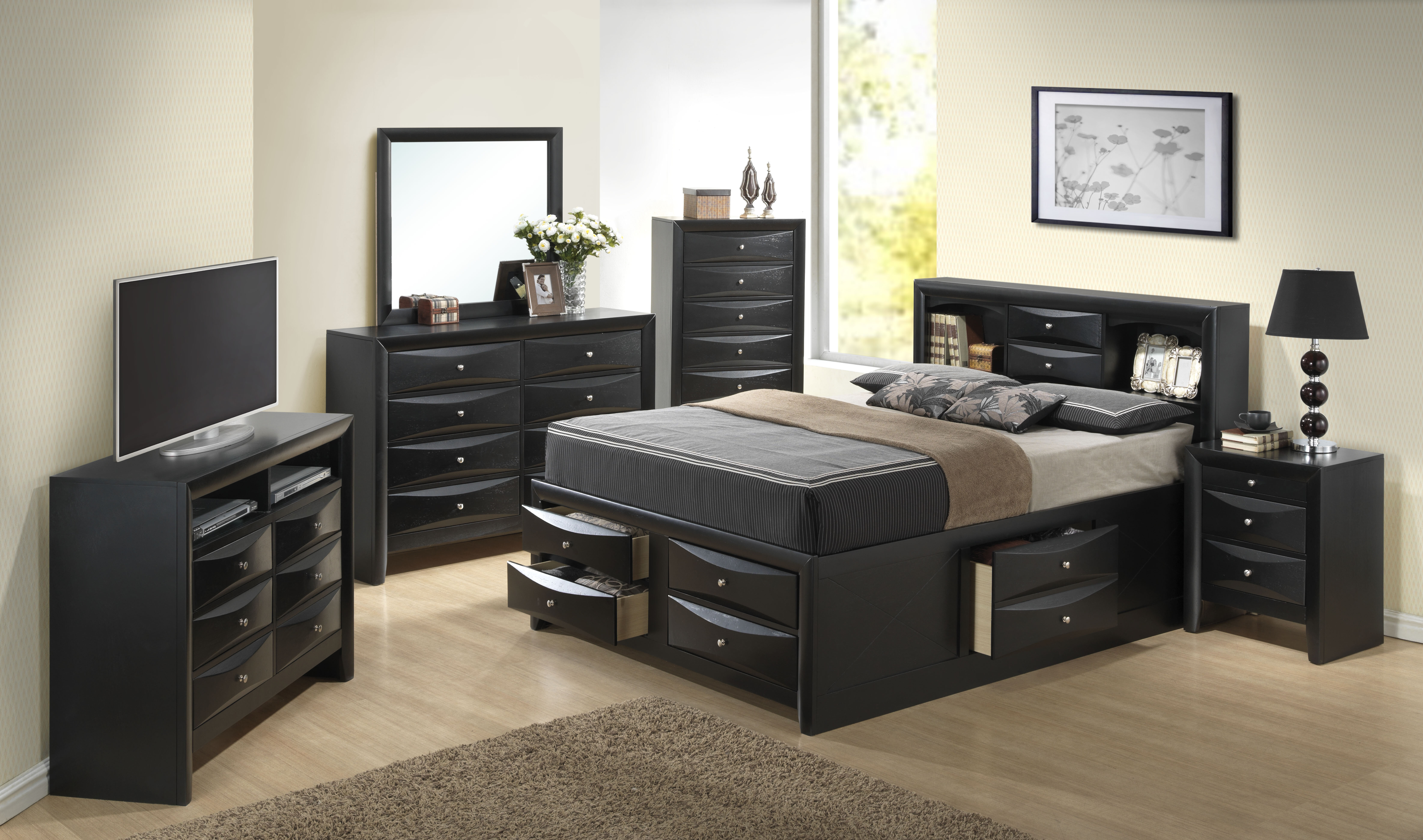 Picture of: Grey King Bedroom Sets You Ll Love In 2020 Wayfair