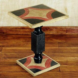 Sebergham Blooming Light Wood End Table