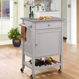 Chelmsford Kitchen Cart by Red Barrel Studio®