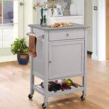 Chelmsford Kitchen Cart by Red Barrel Studio®