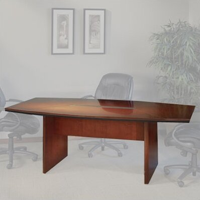 Mayline Corsica Series Boat Shaped Conference Table Wayfair - Mayline corsica conference table