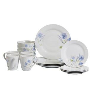 Kissane 16 Piece Dinnerware Set, Service for 4
