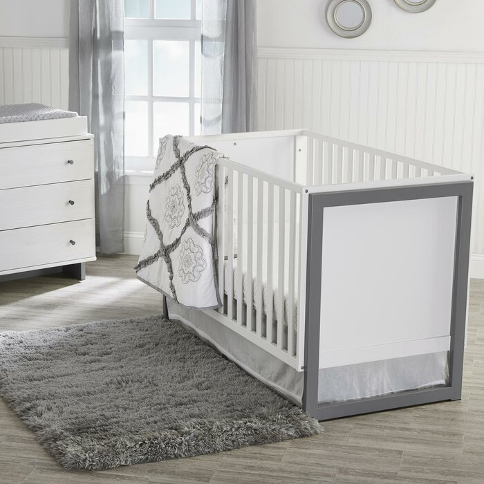 Maple Lane Dove Standard Crib