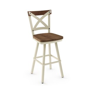 Kirsten 42.38 Swivel Bar Stool Union Rustic