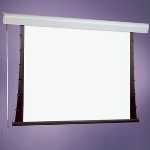 M1300 SilhouetteSeries C White Manual Projection Screen by Draper