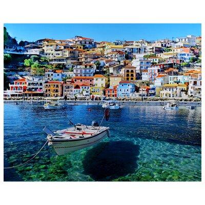 World Menagerie 'Mediterranean' Photographic Print on Glass