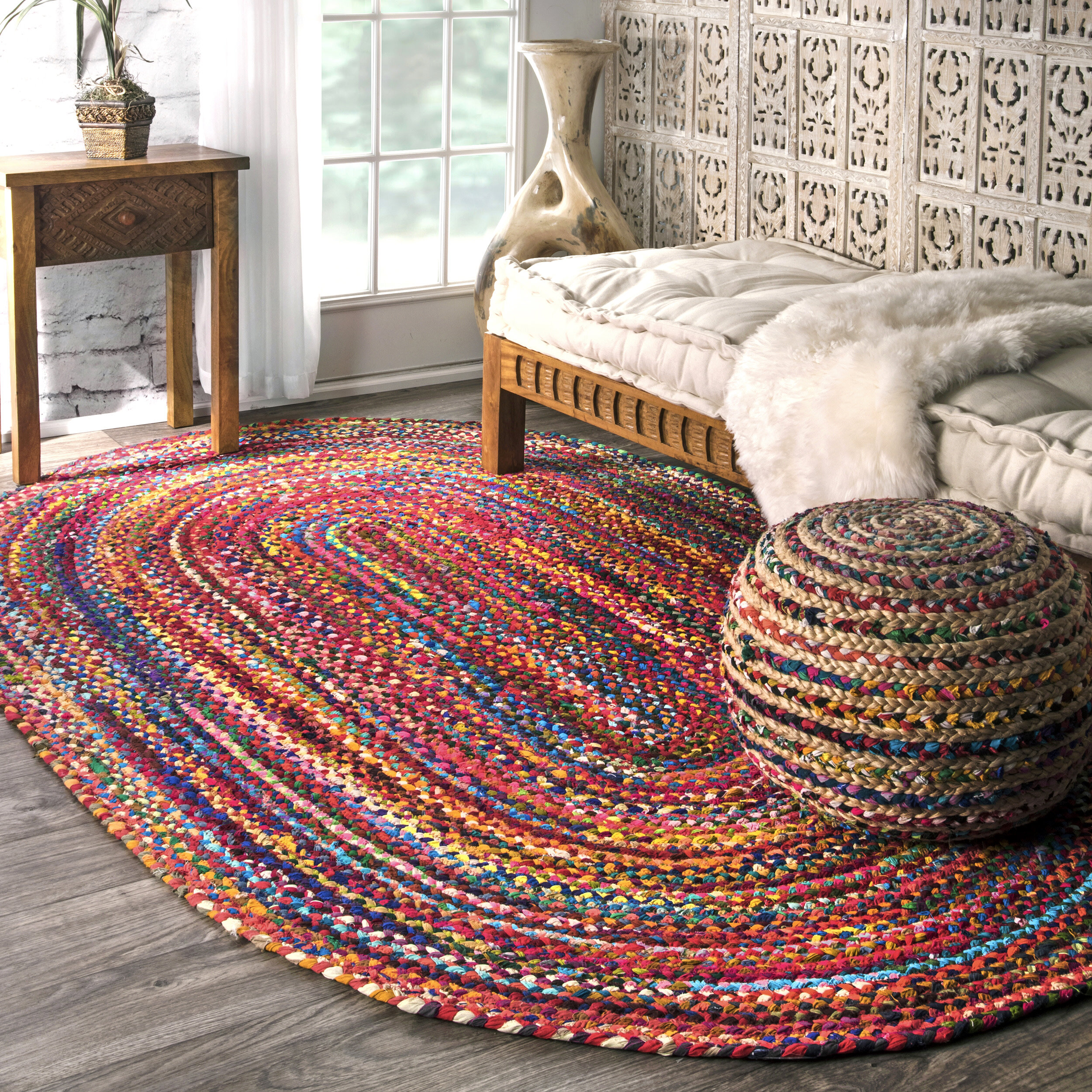 7 X 9 Braided Area Rugs You Ll Love