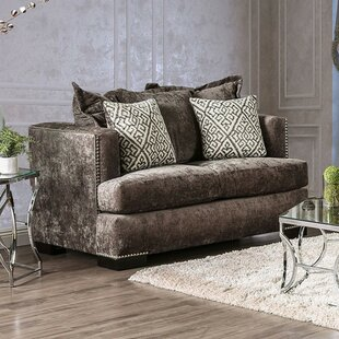 Shop Lia Loveseat by Everly Quinn