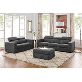 Fowlerville 5 Seater Sectional Sofa With Ottoman by Ebern Designs