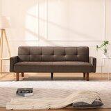 Crescantia 75 Wide Tuxedo Arm Sofa Bed by Latitude Run®