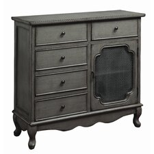Cave Spring 5 Drawer 1 Door Accent Cabinet by One Allium Way