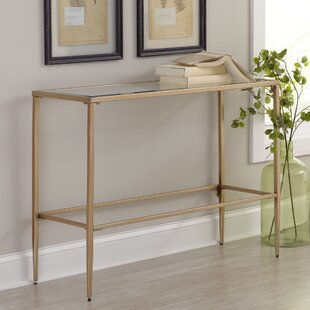 Modern console sofa tables allmodern nash console table watchthetrailerfo