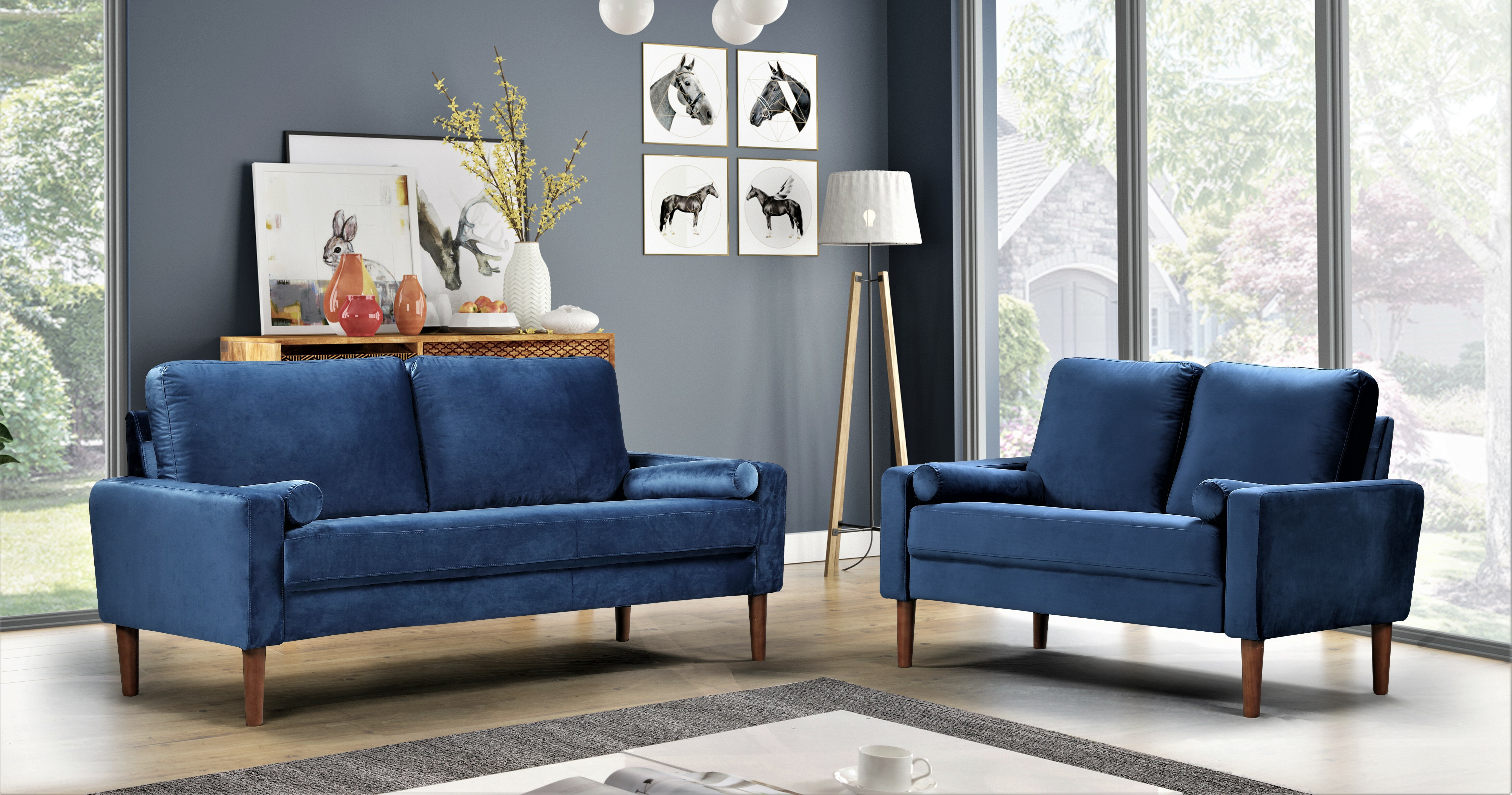 Blue Living Room Sets Couches You Ll Love In 2021 Wayfair