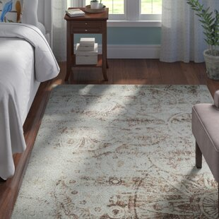 Read Reviews Armand Gray/Light Brown Area Rug By Andover Mills