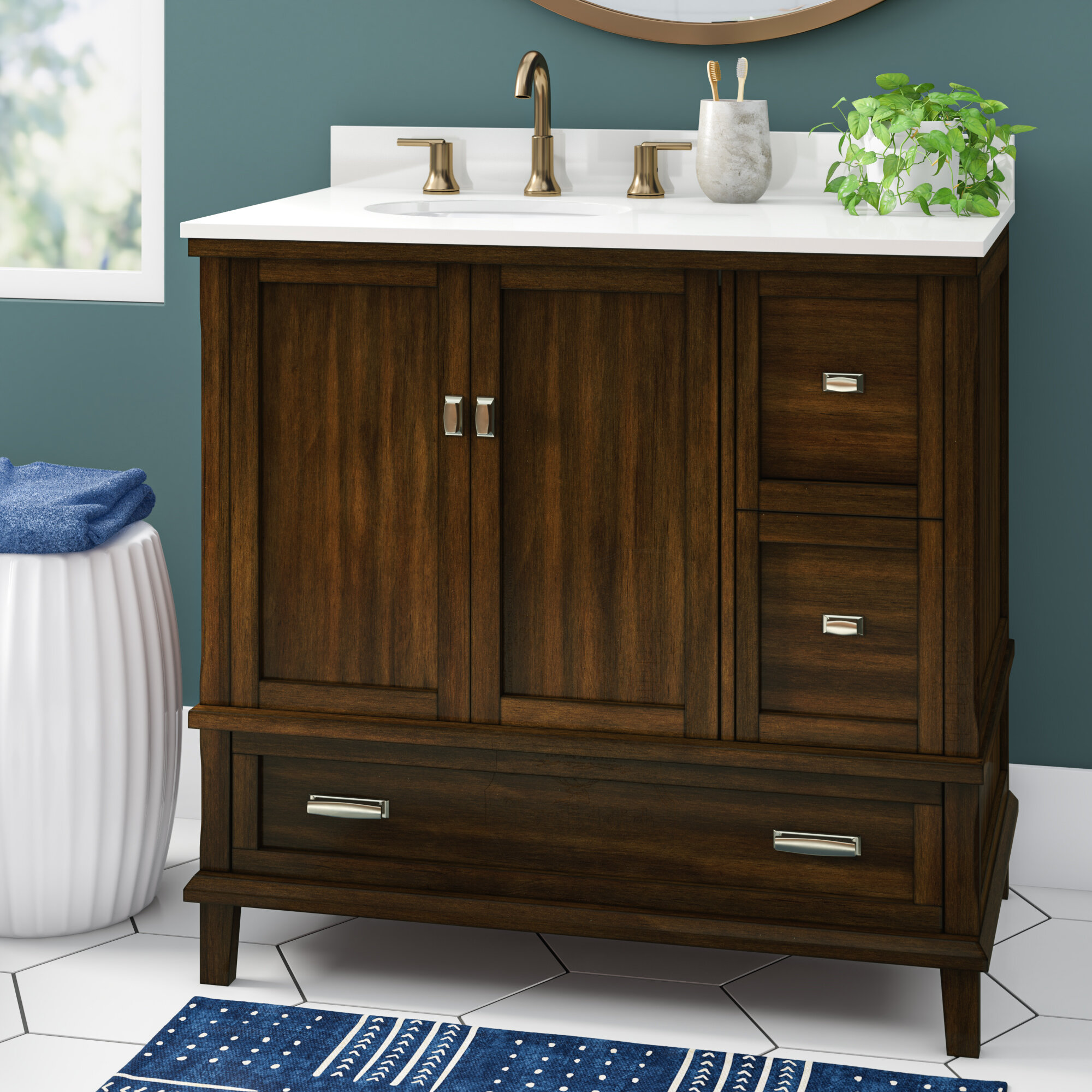Ka 36 Single Bathroom Vanity Set Reviews Joss Main