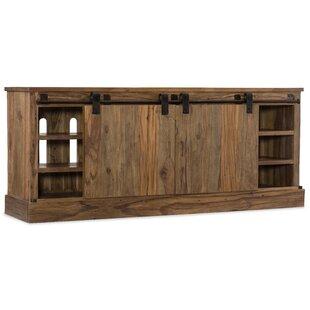 L'Usine Sliding Door 77 TV Stand by Hooker Furniture