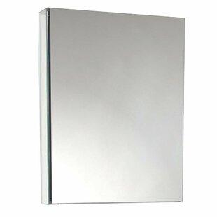 Affordable Price Aultman 24 x 30 Recessed Frameless Medicine Cabinet with 3 Adjustable Shelves ByEbern Designs