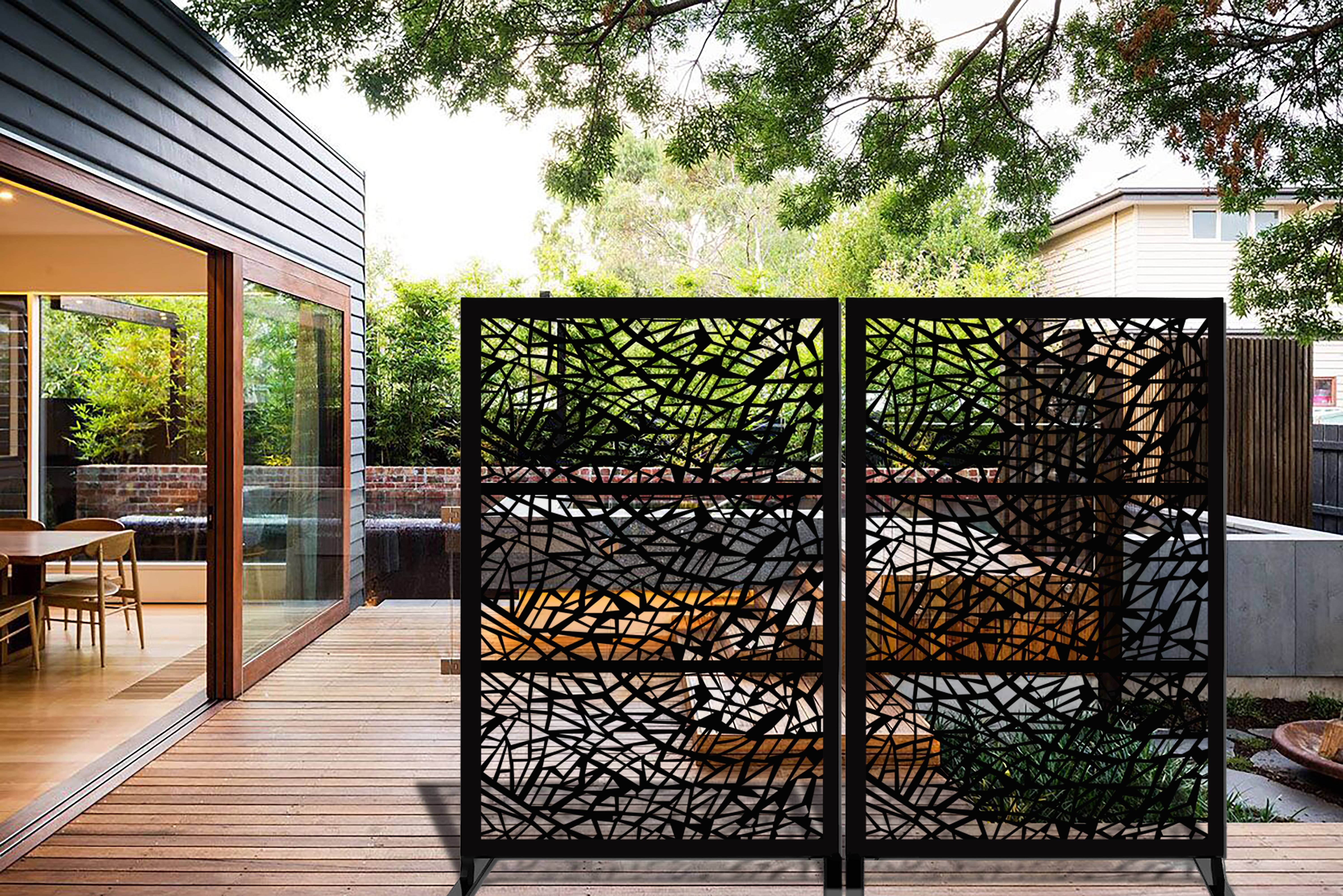 Metal Privacy Screens Fencing Free Shipping Over 35 Wayfair