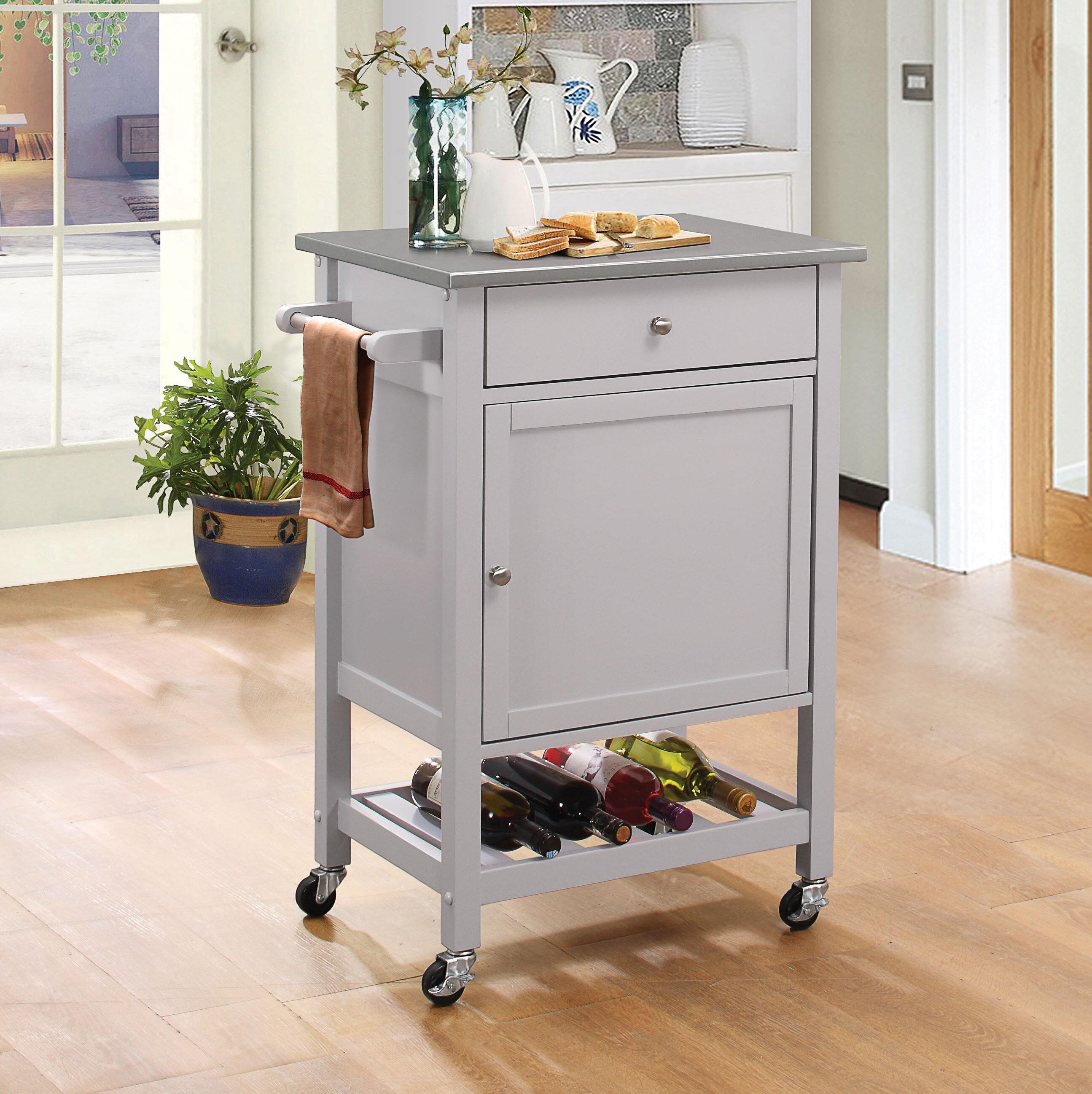 Rosecliff Heights Luka Kitchen Cart