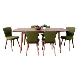 Roosevelt 7 Piece Wood Dining Set by Corrigan Studio