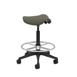 Pony Saddle Drafting Chair by Humanscale Find