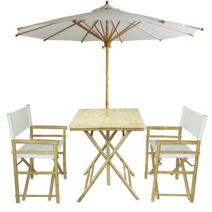 4 Piece Dining Set by ZEW Inc Cool
