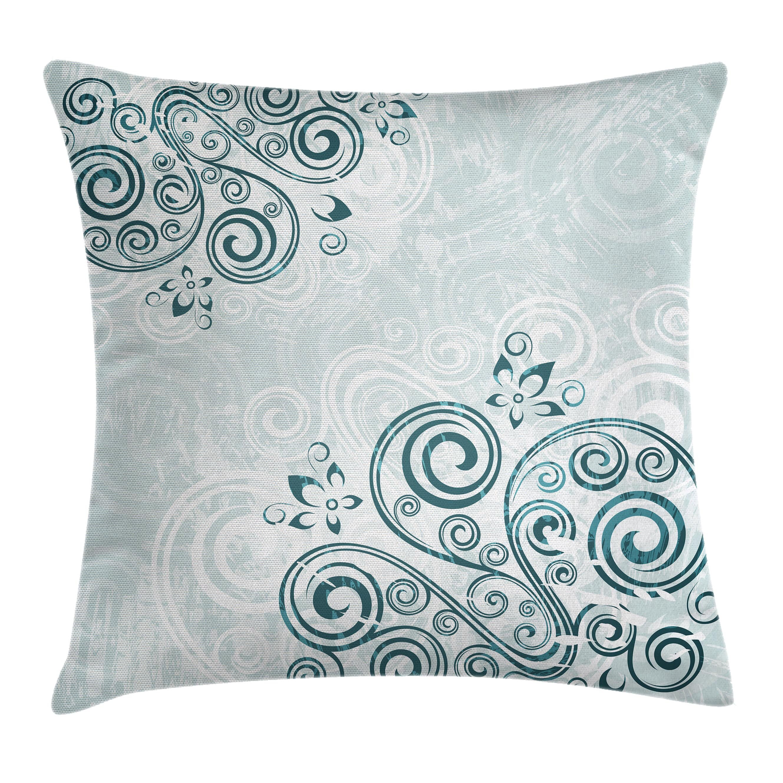 East Urban Home Floral Elegance Cushion Pillow Cover Wayfair