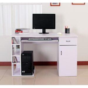 Computertisch mit Tastaturauszug von Hazelwood Home