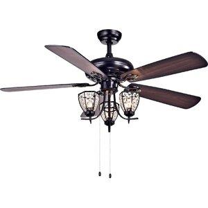 Mirabelle 3-Light Under Cabinet Branched Ceiling Fan Light Kit