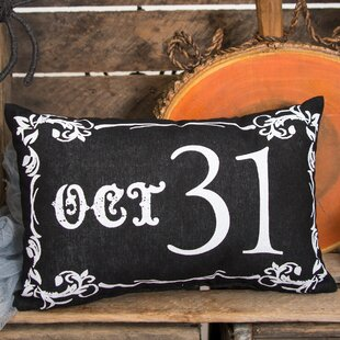 Goth Oct 31 Cotton Lumbar Pillow