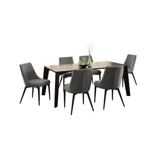 Bergevin 7 Piece Dining Set Wade Logan