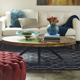 Serita Oval Coffee Table By Union Rustic