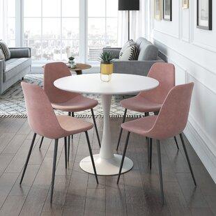 Modern Contemporary Delano 5 Piece Dining Set Allmodern
