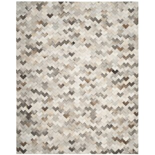 Affordable Price Stasia Hand-Woven Gray Area Rug By Union Rustic