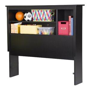 Fusion 40in Tall Twin Bookcase Headboard