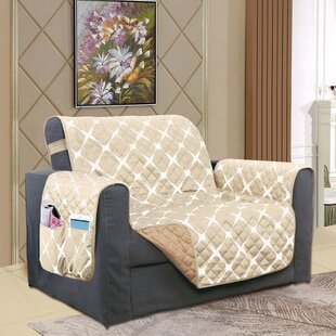 Reversible Furniture Protector Box Cushion Wingback Slipcover
