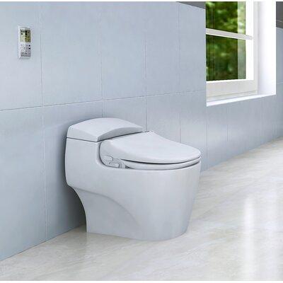 BLISS BB-2000 Toilet Seat Bidet Bio Bidet Remote Finish: Bold Black