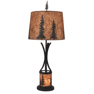 Shop For Goodman Feather Tree Scene Night Light 32 Lamp By Loon Peak