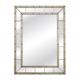 Darby Home Co Beveled Panel Wall Mirror