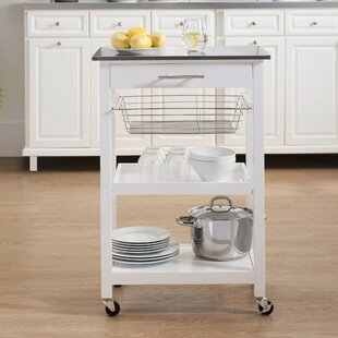 Edolie Kitchen Cart Highland Dunes