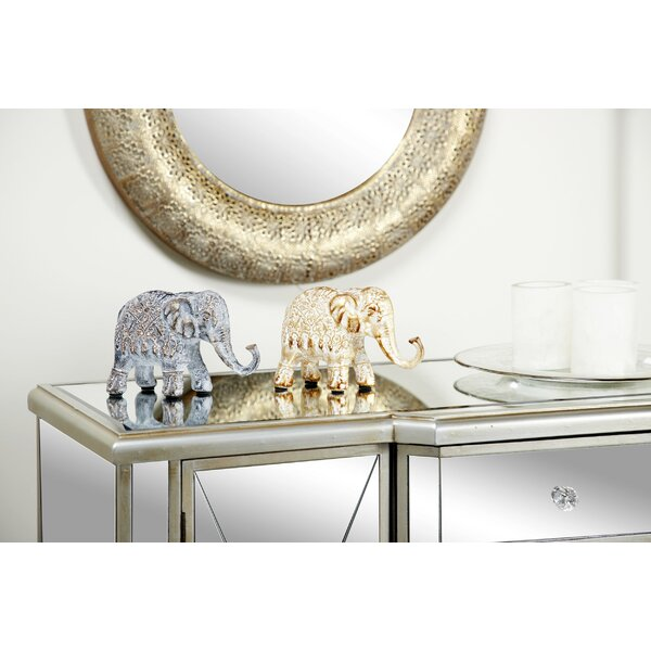 Metal Elephant Wayfair