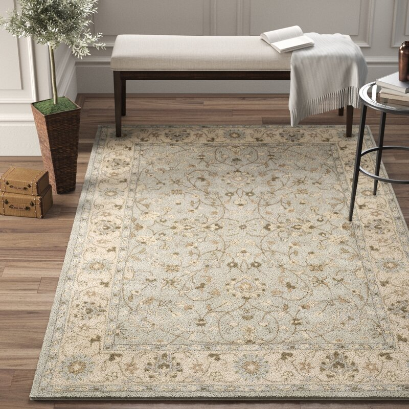 Charlton Home Hebron Oriental Handmade Wool Beige Gray Area Rug Reviews Wayfair