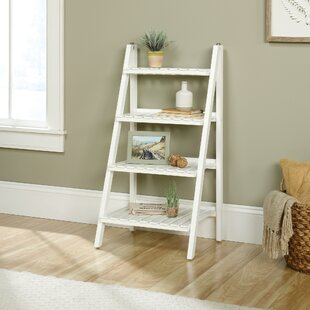 Myrasol Ladder Bookcase by Highland Dunes Reviews