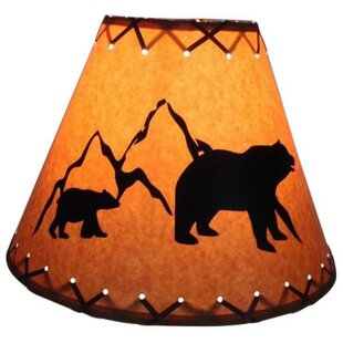 Best Price Bear 14 Paper Empire Lamp Shade By Millwood Pines