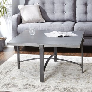 Baratta Metal Base Coffee Table